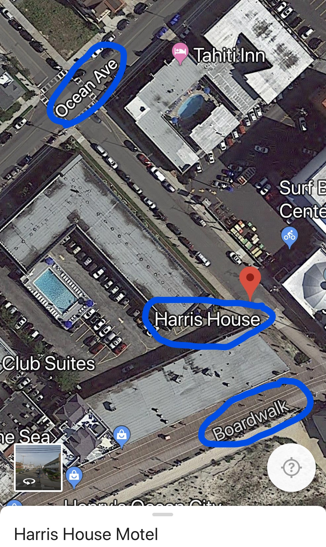 best place to park car near ocean city new jersey